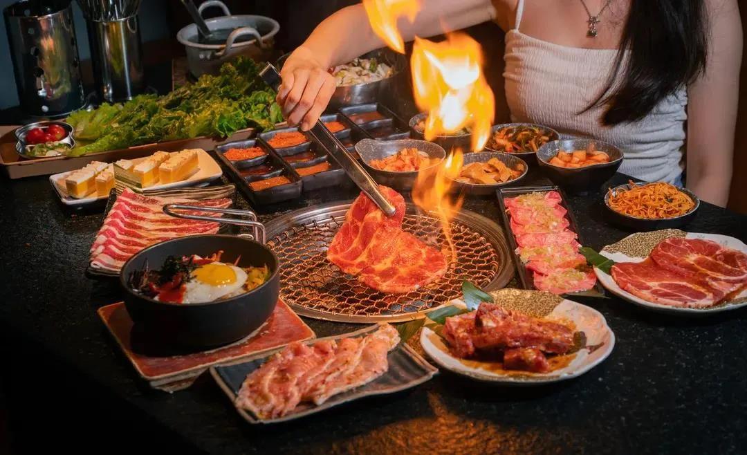 【3店通用|炭一烧】地道韩式烤肉,高品质肉类暴击!仅¥9.9抢价值100代金券!全场通用,享原味牛五花,葱香牛舌,牛上脑等菜品