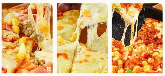 【四环内包配送,省内包邮寄】底薄料足,手工营养披萨!每天一种口味,开启元气满满生活!¥109抢213「米诺亚披萨」9寸披萨6个=虾仁披萨+超级尊享披萨+奥尔良烤鸡肉披萨+黑椒牛肉披萨等!加热即食!