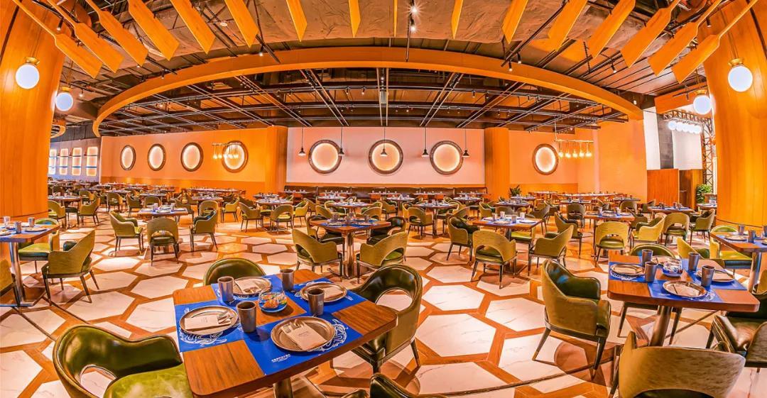 【珠海长隆·海洋科学酒店水手自助餐厅】以水手为主题,东南亚特色装饰风格,尝试异域美食,体验不同的生活方式!仅¥298抢1大1小自助午餐