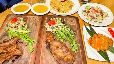 【天河区丨珠江新城D口】曝光隐秘在CBD的梦幻花园浪漫西餐厅!138元起抢价值377元起「Top steak」套餐