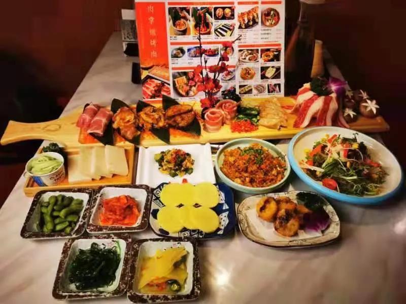 【重庆|观音桥大融城】日式精致烤肉!仅¥138抢「肉掌柜烤肉」新年2-3人餐=小菜4款+沙拉+珍味2款+素菜2款+烤肉7款等
