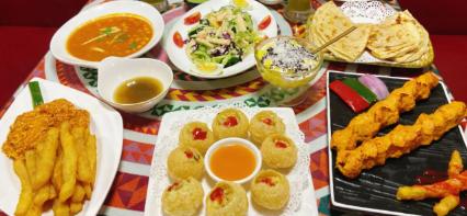 【3店通用】异域风情美味!¥139抢价值266「美味玛莎拉巴基斯坦餐厅」套餐=空心炸球+香煎巴沙鱼配黄金薯条+鸡肉酸奶咖喱等