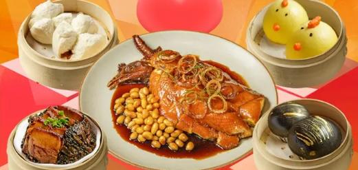 【免费配送到家】人在家中,也能享受美味粤菜!¥85.9抢价值169「北角秀味港式茶餐厅」套餐=叱咤中环豉油鸡+梅菜扣肉等!