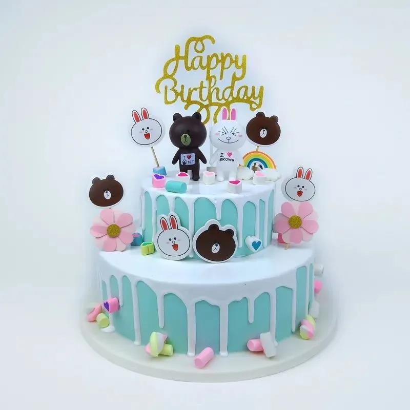 【西安市三环内免费配送】我的甜蜜,只想与你分享!¥89抢价值258元「蜜语蛋糕」8+6寸双层生日蛋糕!10种网红款式自由挑选!