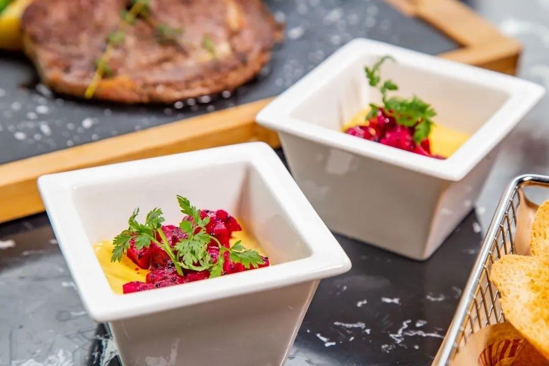 【杭州·INCHES隐匙·音乐酒廊餐厅】高教园 168元双人餐!高颜值西餐厅!菜品光是摆盘就能俘获众多芳心!每一口都是至真至醇的美味!